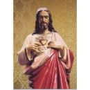 Postal del Sagrado Corazón de Jesús