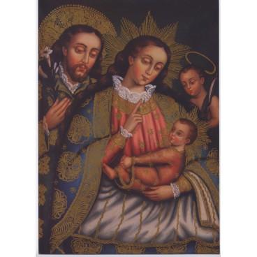 Postal de la Sagrada Familia
