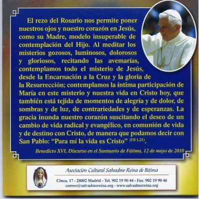 20 misterios del rosario yahoo dating 5