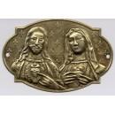 Medallón de los Sagrados Corazones, para colocar en puerta