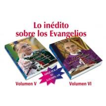 Lo inédito sobre los Evangelios - Pack con Volúmenes V y VI