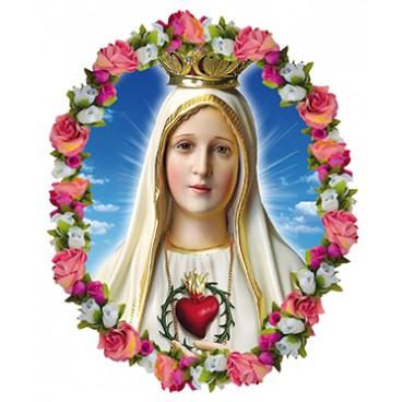 Adhesivo Virgen de Fátima